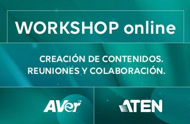 Workshop online. Creación de contenidos. Reuniones y colaboración.