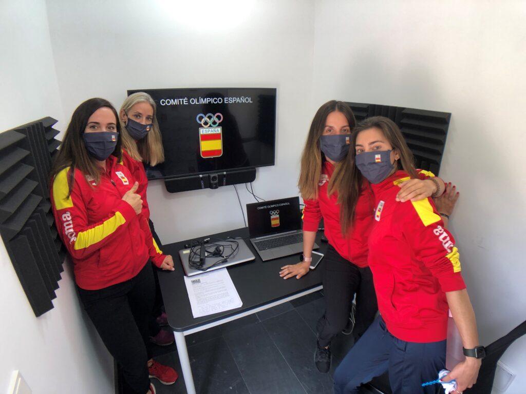 """Deportistas del programa """"Todos Olímpicos"""""""
