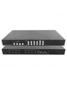 Matriz HDMI 4x4 con modo Videowall Cypress CDPS-44M