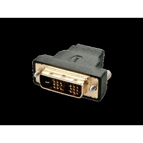 Adaptador Lindy dvi macho HDMI hembra 41228