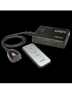 Selector Lindy HDMI 3:1 (38034)