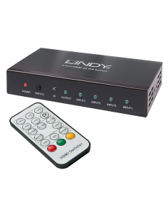 Selector Lindy HDMI 4K 4:1 (38151)