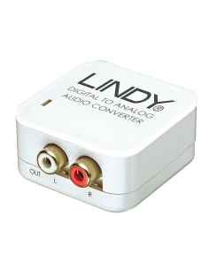 Conversor Lindy de SPDIF a audio analógico (70408)