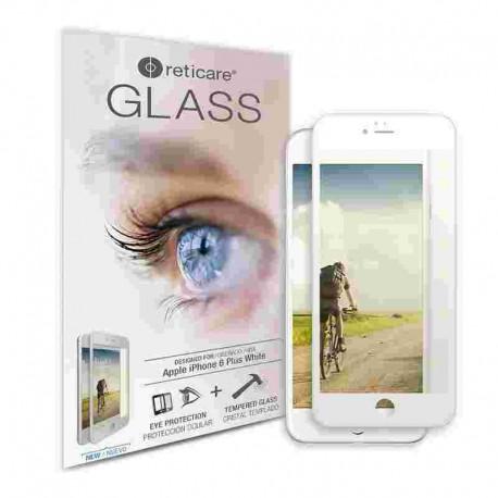 Reticare Glass Apple iPhone 6 Plus Plus Pantalla Blanca