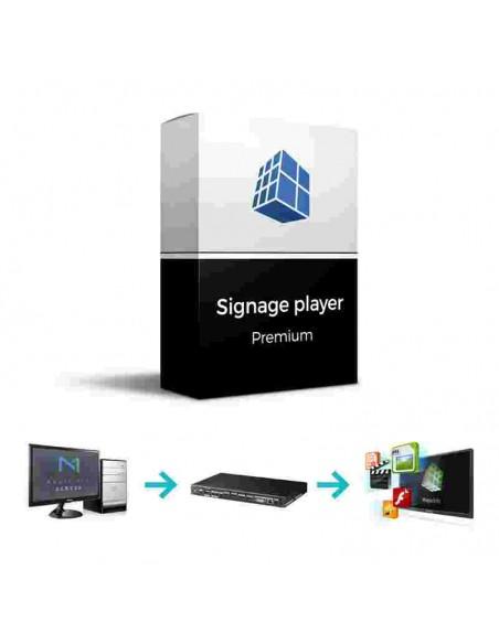 Licencia Premium para Player Externos modelo Signage Player (BW-MIB10PS)